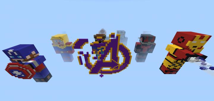 Minecraft Titan Infinity War Map