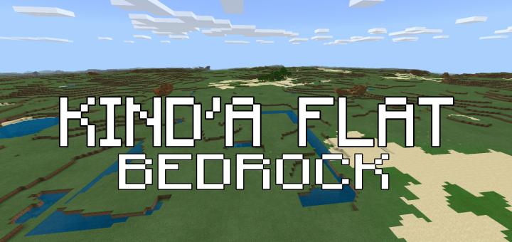 Kinda Superflat Bedrock Minecraft Pe Mods Addons