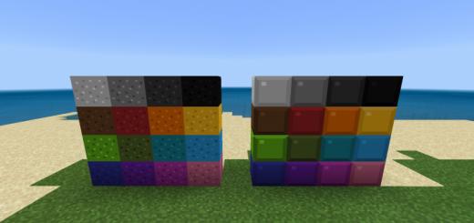 Tetrimino Concrete Pack