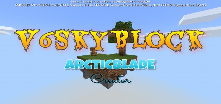 V6 SkyBlock | Minecraft PE Maps