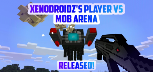 Xenodroidz Player vs Mob Arena