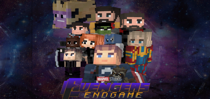 Avengers Endgame Add-on | Minecraft PE Mods & Addons