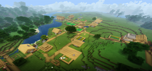 Village, Outpost & Massive Double Ravine Seed
