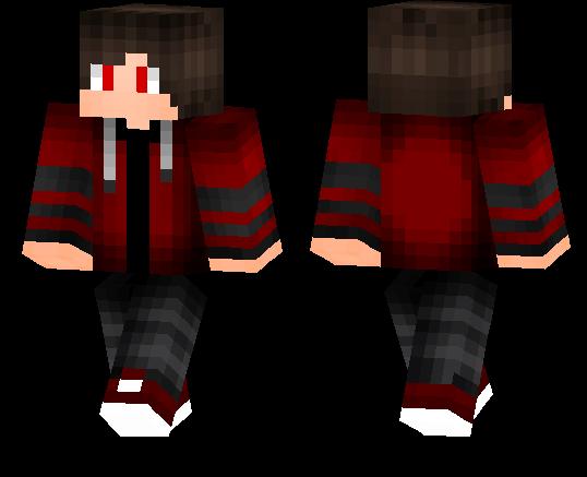 Cool Red Boy Minecraft Pe Skins