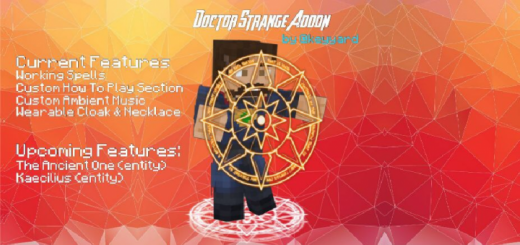 Doctor Strange Add-on (With Real Magic)