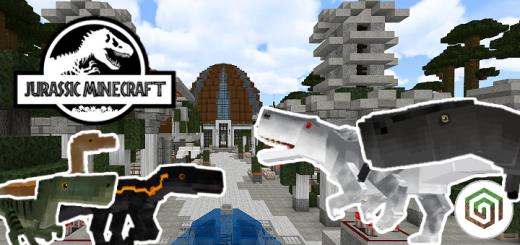 Jurassic Minecraft | Isla Nublar [MAP]