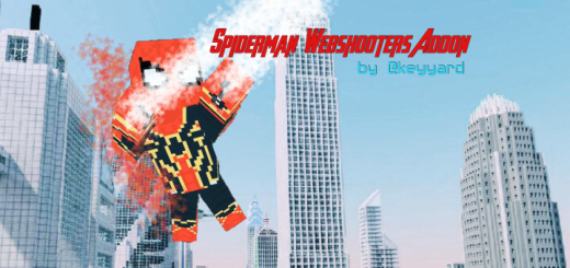 Spiderman's Webshooters Addon (with real swing & web shotting)