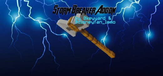 Stormbreaker Add-on (With Lightning Chain)