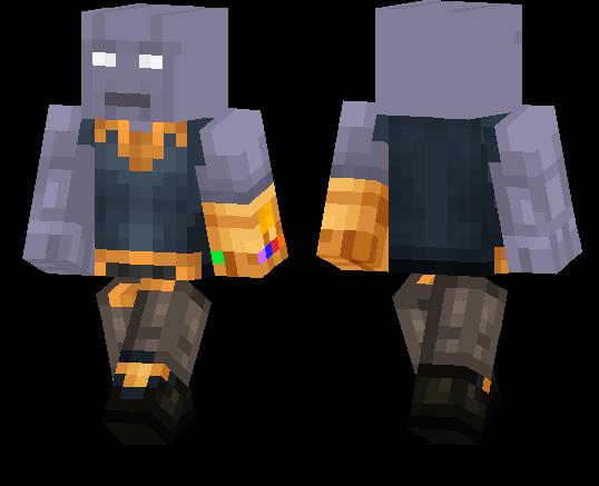 Thanos (Infinity War) | Minecraft PE Skins