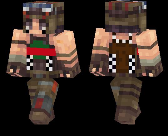 Fortnite Renegade Raider Minecraft Pe Skins