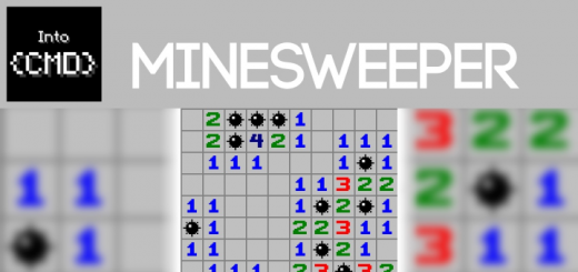 IntoCMD – MineSweeper