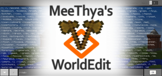 MeeThya's WorldEdit Mod (Android)