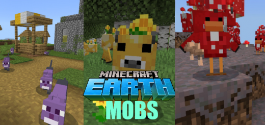 Mobs From Minecraft Earth Resource Pack