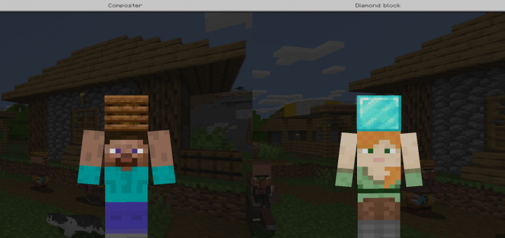 Steve And Alex Are Carrying A Skin Pack Minecraft Skin Packs