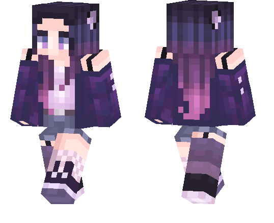 Twilight Wolf Girl Minecraft Pe Skins