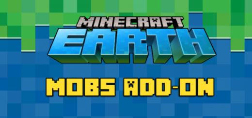 Minecraft Earth Mobs Add-on