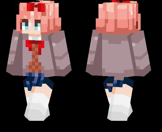 Sayori DDLC | Minecraft PE Skins