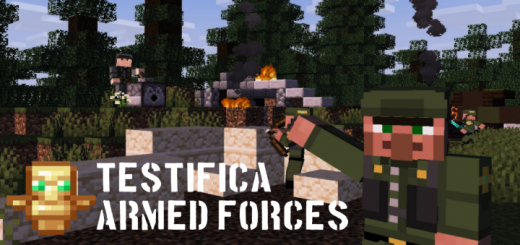 Testifica Armed Forces Skin Pack