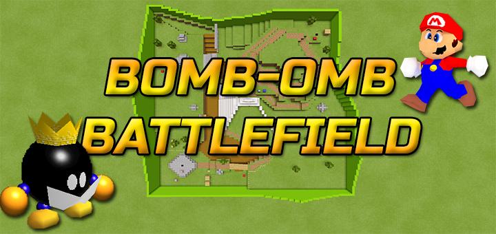 Bomb-Omb Battlefield from Super Mario 64 | Minecraft PE Maps