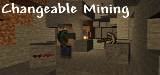 Changeable Mining Resource Pack