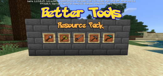 Better Tools Texture Pack