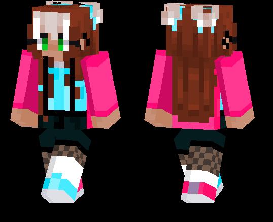 Cute Girl Skin Minecraft Pe Skins