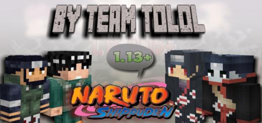 Naruto Minecraft Addon (1.13.0.9+)