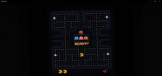 Pac-Man Minecraft Edition
