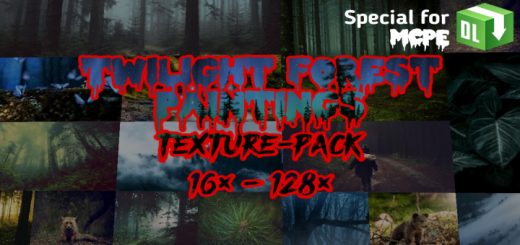 Twilight Forest Paintings (Texture Pack)