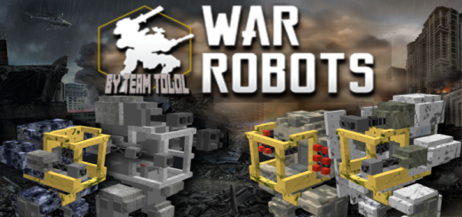 War Robots Minecrafr Addon (v1.13+)