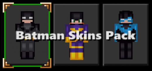 Batman Skins Pack