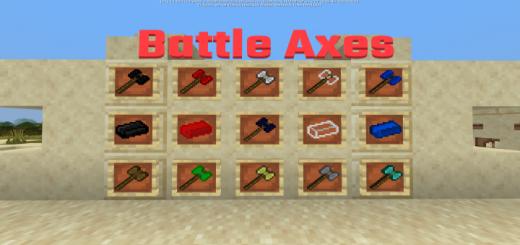 Battle Axes Addon