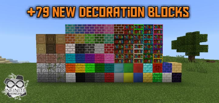 Decoration Blocks Add On Minecraft Pe Mods Addons