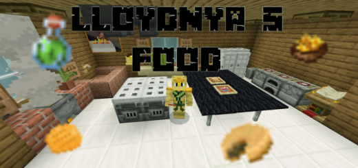 LloydNya's Food Addon (1.13+ Only)