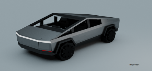 Tesla CyberTruck Addon