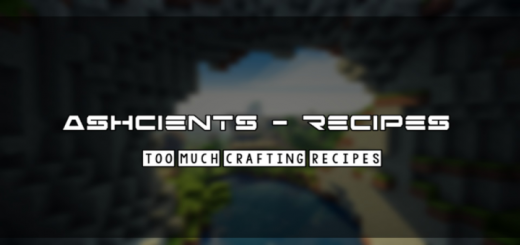 Ashcients Crafting Recipes (was Deedly O' Crafting)