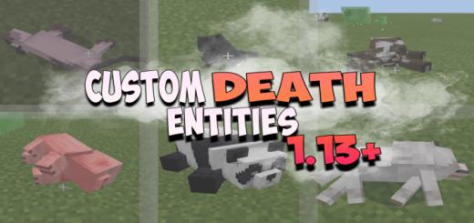 Custom Death Entities Animation 1.0.7 New HUD
