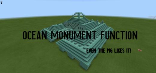 Ocean Monument Function