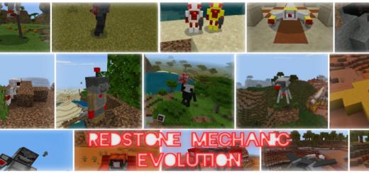 Redstone Mechanic Evolution