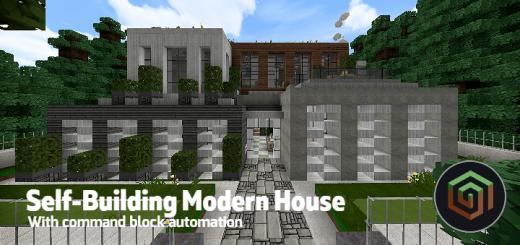 Self-Building Modern House [MAP]