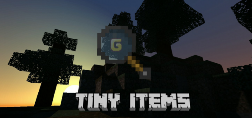 Tiny Items Resource Pack