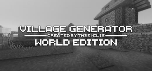 Village Generator: World Edition