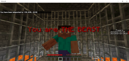 ESCAPE FROM THE BEAST!!!
