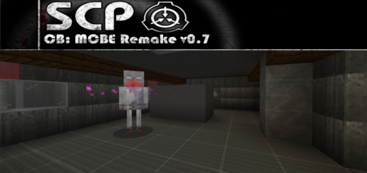 SCP: Containment Breach Minecraft Bedrock Remake v0.7 [DISCONTINUED]