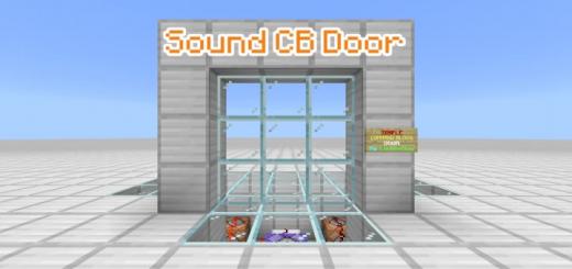 Sound Command Block Door