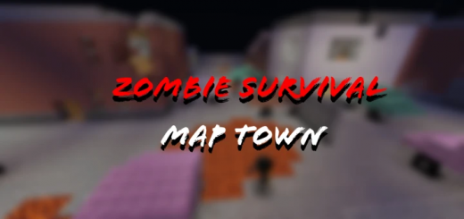 Zombie Survival Map Town