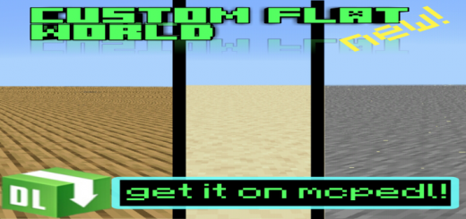 3 Custom Flat World!