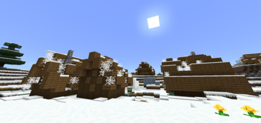 Abandoned Snow Village / Ice Spikes Seed (Beta Only)