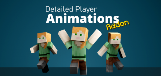 Detailed Player Animations Add-on