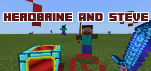 Herobrine and Steve Add-on [1.15+]